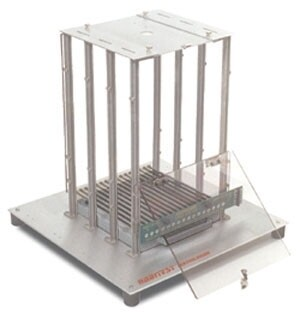 TEST CAGE - MOUSE - INCLUDES INFUSION AND STIMULATION LID, REQUIRES FLOOR PURCHASED SEPARATELY