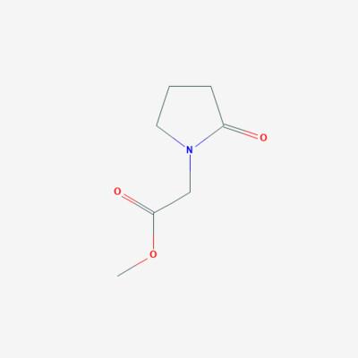 1-Methyl 2-oxo pyrolidine acetate - 59776-88-4 - 2-Oxo-1-pyrrolidineacetic acid methyl ester - C7H11NO3