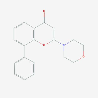 2-Morpholino-8-Phenyl-4H-1-benzopyran-4-one - 154447-36-6 - 2-(4-Morpholinyl)-8-phenyl-4H-1-benzopyran-4-one - C19H17NO3