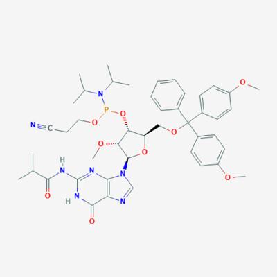 5'-ODMT 2'-OMe-N-iBu G Phosphoramidite (Amidite) - CAS No. 150780-67-9