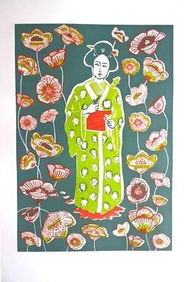 Women and flowers I / II / III