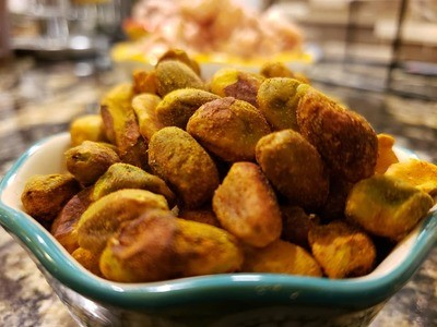 Curried Pistachios