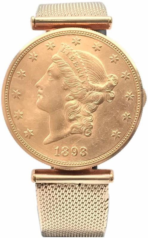 1893 Corum Coin Watch - Hidden Watch
