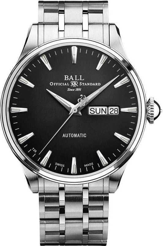 Ball Watch Trainmaster Eternity NM2080D-S1J-BK