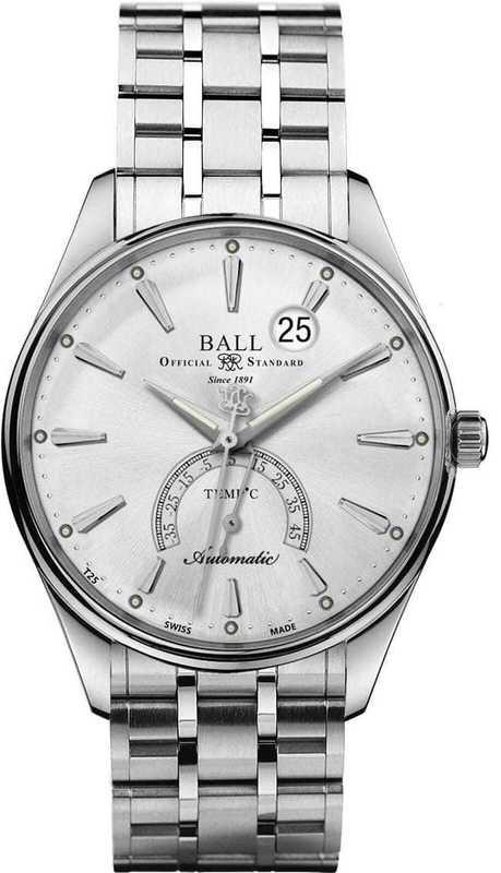 Ball Watch Trainmaster Kelvin Celcius Scale NT3888D-S1J-SLC