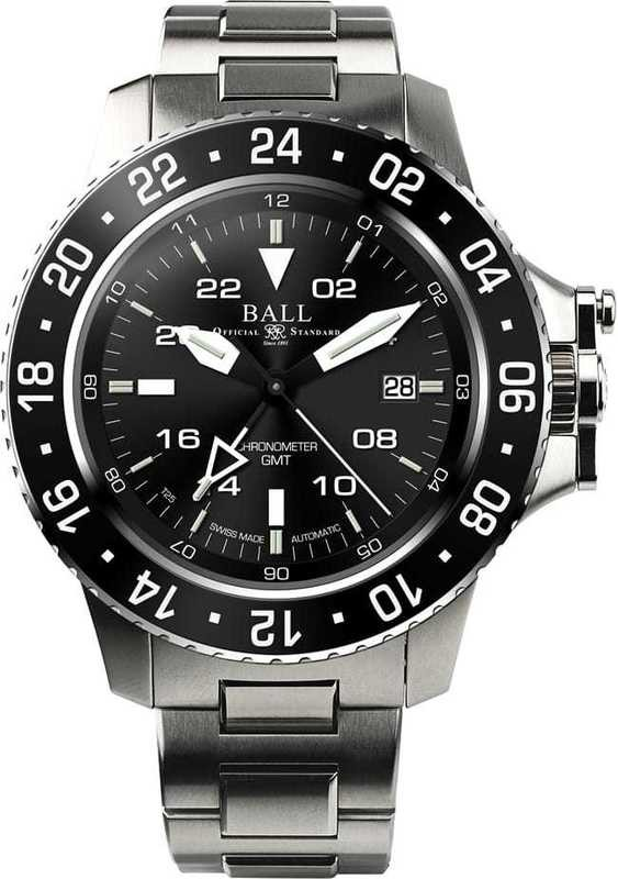 Ball Watch Engineer Hydrocarbon Aero GMT DG2016A-SCJ-BK