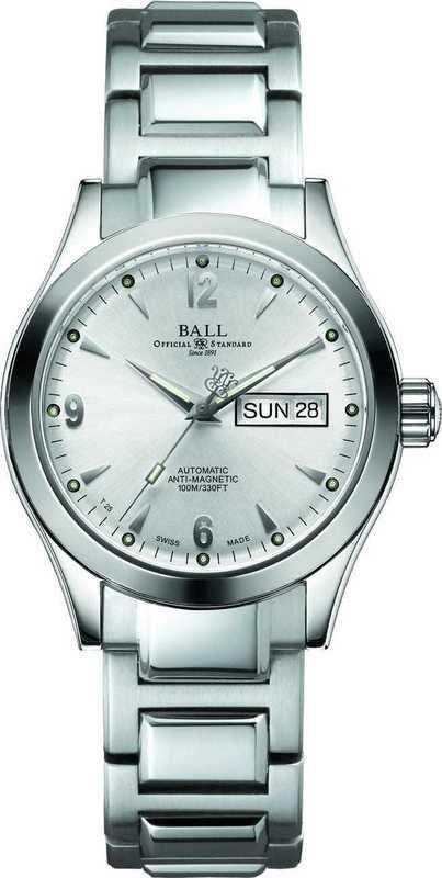 Ball Watch Engineer II Ohio 40mm on Bracelet NM2026C-S5J-WH