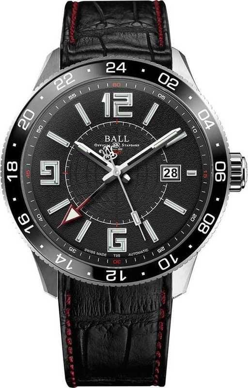 Ball Watch Engineer Master II Pilot GMTGM3090-LLAJ-BK