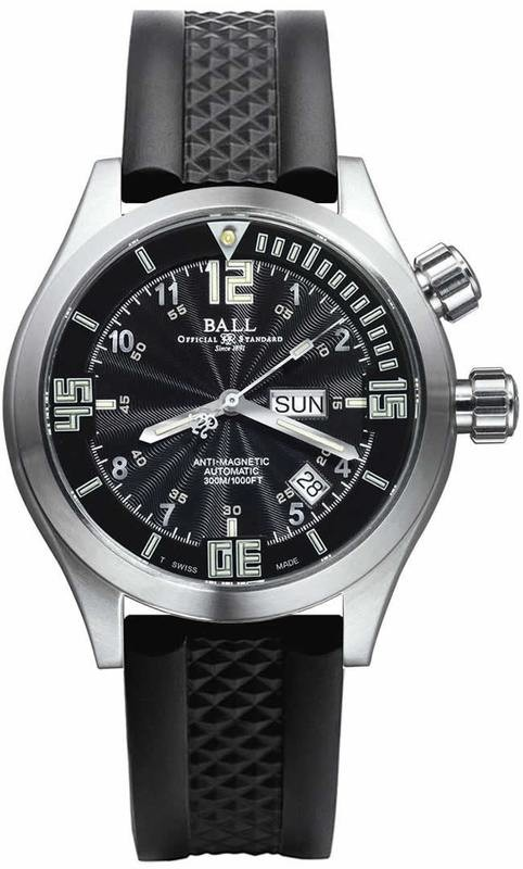 Ball Watch Engineer Master II Diver DM1020A-PAJ-BKWH