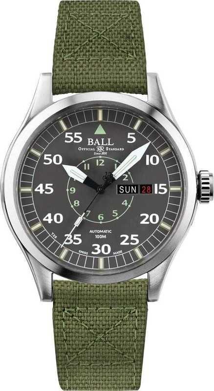 Ball Watch Engineer Master II Aviator NM1080C-N5J-GY