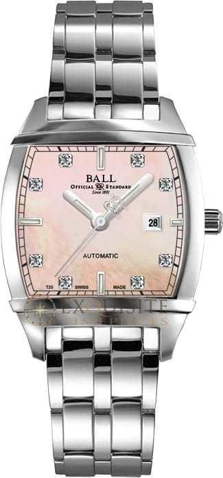 Ball Watch Conductor Lady Transcendent Diamond MOP NL1068D-S3J-PK