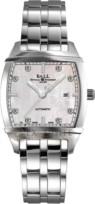 Ball Watch Conductor Lady Transcendent Diamond MOP NL1068D-S3J-WH