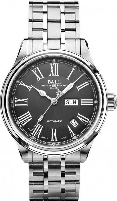 Ball Watch Train Master Roman NM1058D-S4J-GY