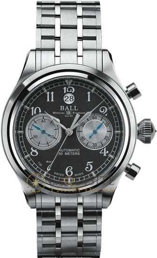 Ball Watch Trainmaster Cannonball Chronograph NEW VERSION CM1052D-S2J-GY