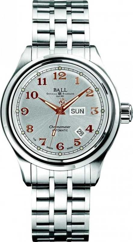 Ball Watch Trainmaster Cleveland Express COSC NM1058D-SCJ-SLRG