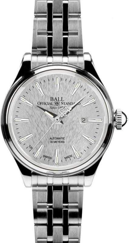 Ball Watch Trainmaster Eternity Lady Steel NL2080D-SJ-SL