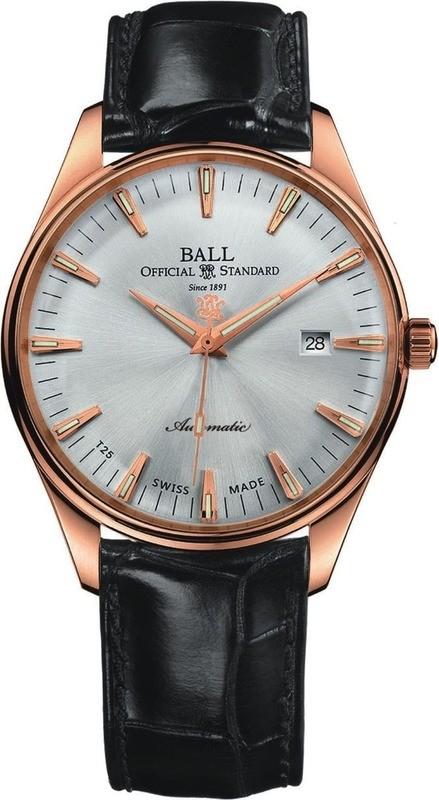 Ball Watch Trainmaster One Hundred Twenty NM2888D-PG-LJ-SLGO