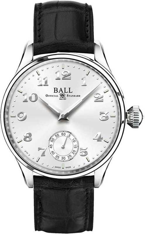 Ball Watch Trainmaster Cleveland Night Express NM3038D-LL2J-WH