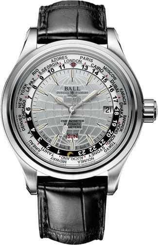 Ball Watch Trainmaster Worldtimer GM2020D-LC-WH