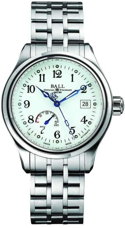 Ball Watch Trainmaster Power Reserve NM1056D-S1J-WH