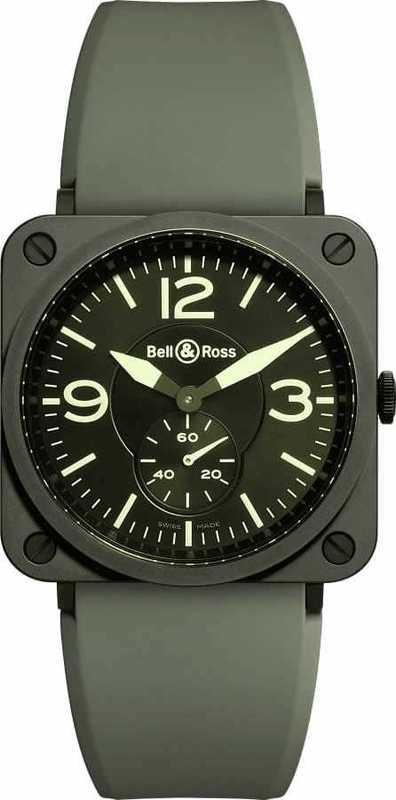 Bell & Ross BR S MILITARY CERAMIC BRS-CERAM-MIL-SRB