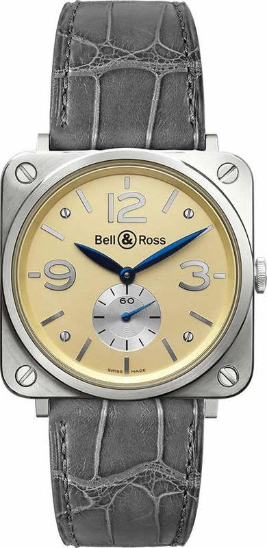 Bell & Ross BR-S White Gold Ivory Dial BRS-WHGOLD-IVORY-D