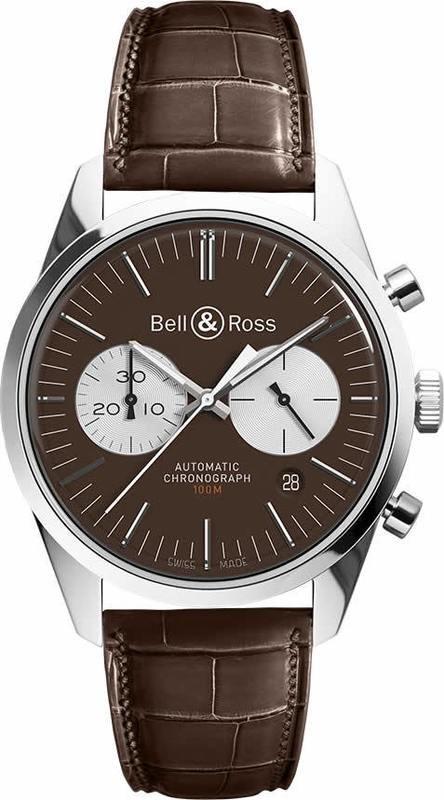 Bell & Ross BR 126 Officer Brown Limited Edition BRG126-BRN-ST-SC