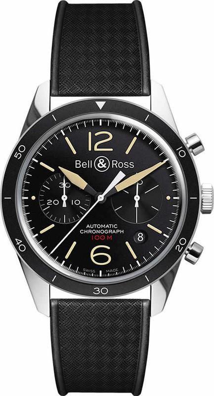 Bell & Ross BR 126 Sport Heritage BRV126-ST-HER-SRB