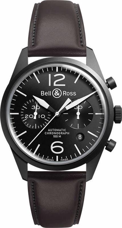 Bell & Ross BR126 Vintage Original Carbon BRV126-BL-CA-SCA