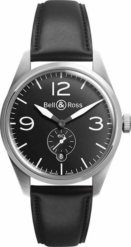 Bell & Ross BR123 Vintage Original BRV123-BL-ST-SCA