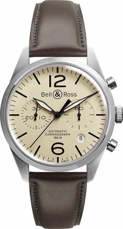 Bell & Ross BR126 Vintage Original Beige BRV126-BEI-ST-SCA