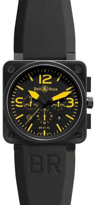 Bell & Ross Aviation BR01-94 Yellow