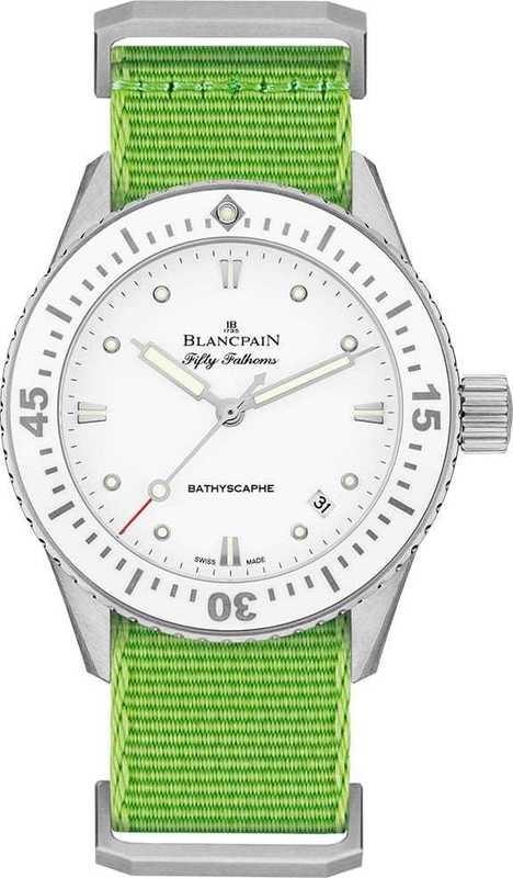 Blancpain Fifty Fathoms Bathyscaphe 5100-1127-NAHA