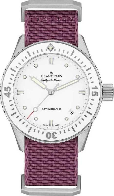 Blancpain Fifty Fathoms Bathyscaphe 5100-1127-NAV
