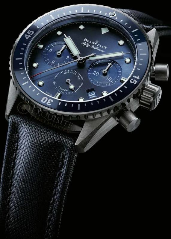 Blancpain Fifty Fathoms Ocean Commitment Bathyscaphe Chronographe FlyBack 5200-0240-52A