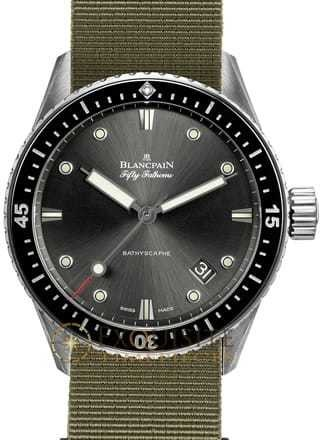 Blancpain Fifty Fathoms Bathscaphe 5000-1110-NAKA