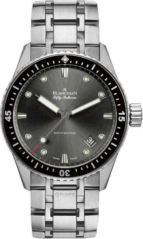 Blancpain Fifty Fathoms Bathyscaphe 5000-1110-70B