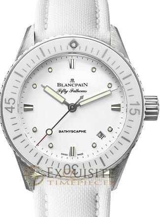 Blancpain Fifty Fathoms Bathscaphe 5100-1127-W52A