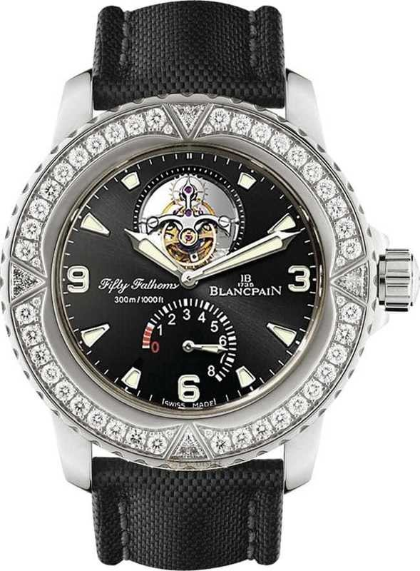 Blancpain Fifty Fathoms Tourbillon 8 Days 5025-9430-52A