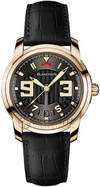 Blancpain L Evolution 8 Day Automatic In 18kt Rose Gold 8805-3630-53B