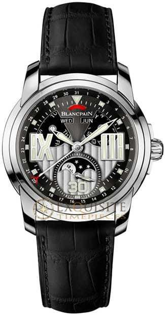 Blancpain L Evolution Pase de Lune 8 Jours Complete Calendar In Stainless Steel 8866-1134-53B
