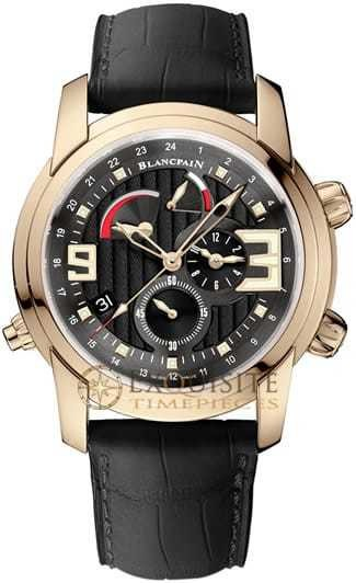Blancpain L Evolution Reveil GMT Alarm In 18kt Rose Gold 8841-3630-53B