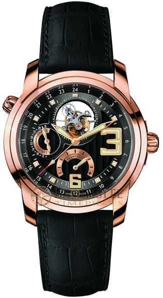 Blancpain L Evolution GMT Tourbillon In 18kt Rose Gold 8825-3630-53B