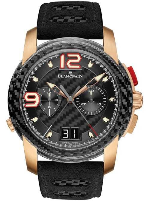 Blancpain L Evolution Split Second Flyback Chronograph Carbon Fiber Bezel 8886F-3603-52B