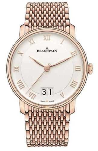 Blancpain Villeret Grande Date Red Gold 6669-3642-MMB