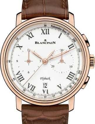 Blancpain Villeret Chronographe Flyback Pusometre 6680F-3631-55B