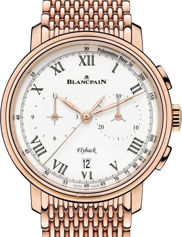 Blancpain Villeret Chronographe Flyback Pusometre 6680F-3631-MMB