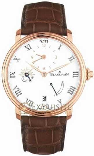 Blancpain Villeret 8 Day Half Timezone 6661-3631-55B