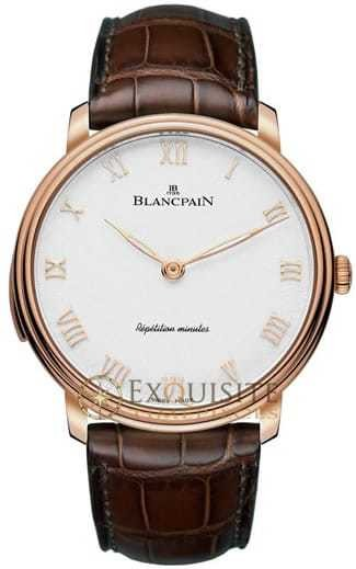 Blancpain Villeret Minute Repeater Cathedral Gong 6635-3642-55B