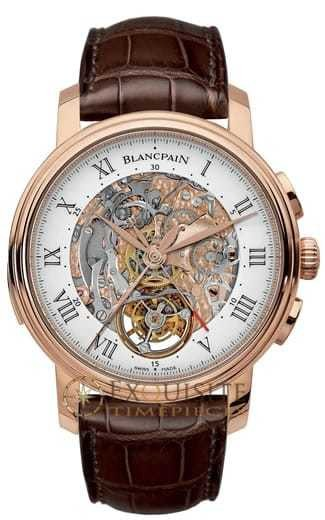 Blancpain Le Brassus Carrousel Repetition Minutes Chronographe Flyback 2358-3631-55B